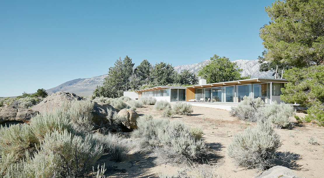 Richard Neutra: Oyler House, Lone Pine, 1959, Foto © David Schreyer