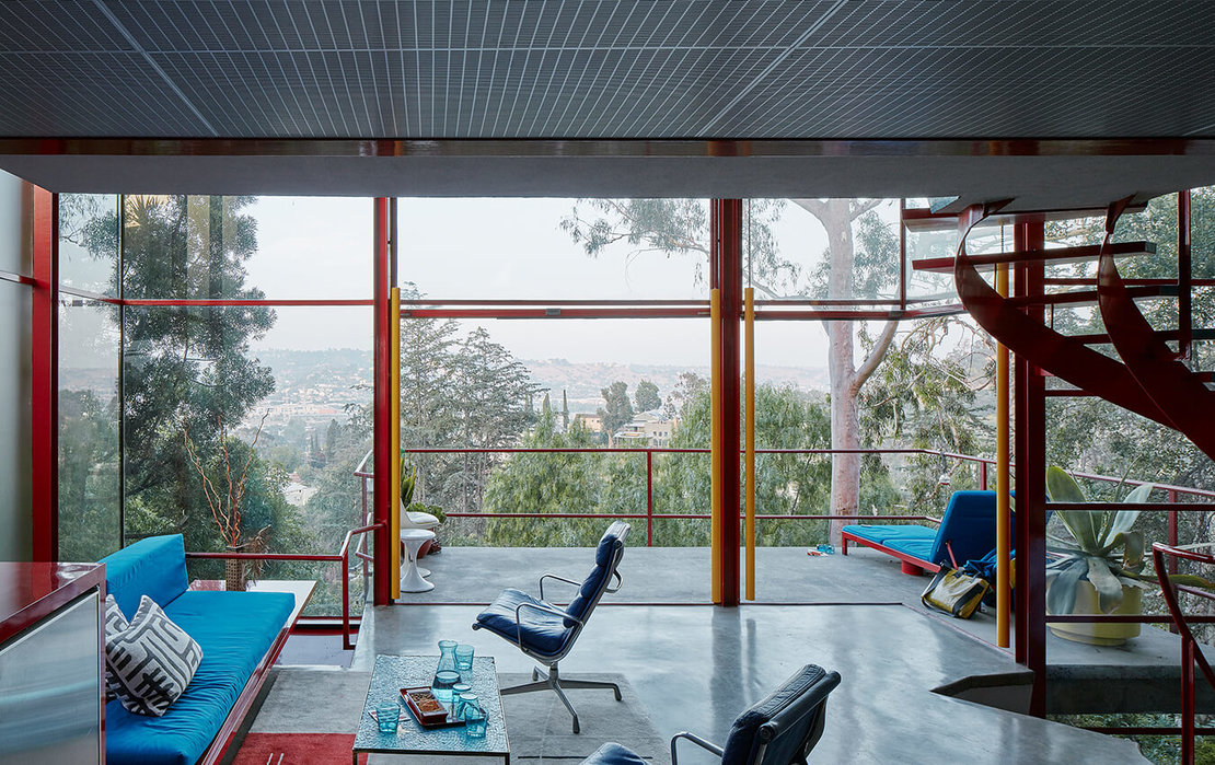 Allyn Morris: Morris House, Silver Lake, Los Angeles, 1957/58, Foto © David Schreyer