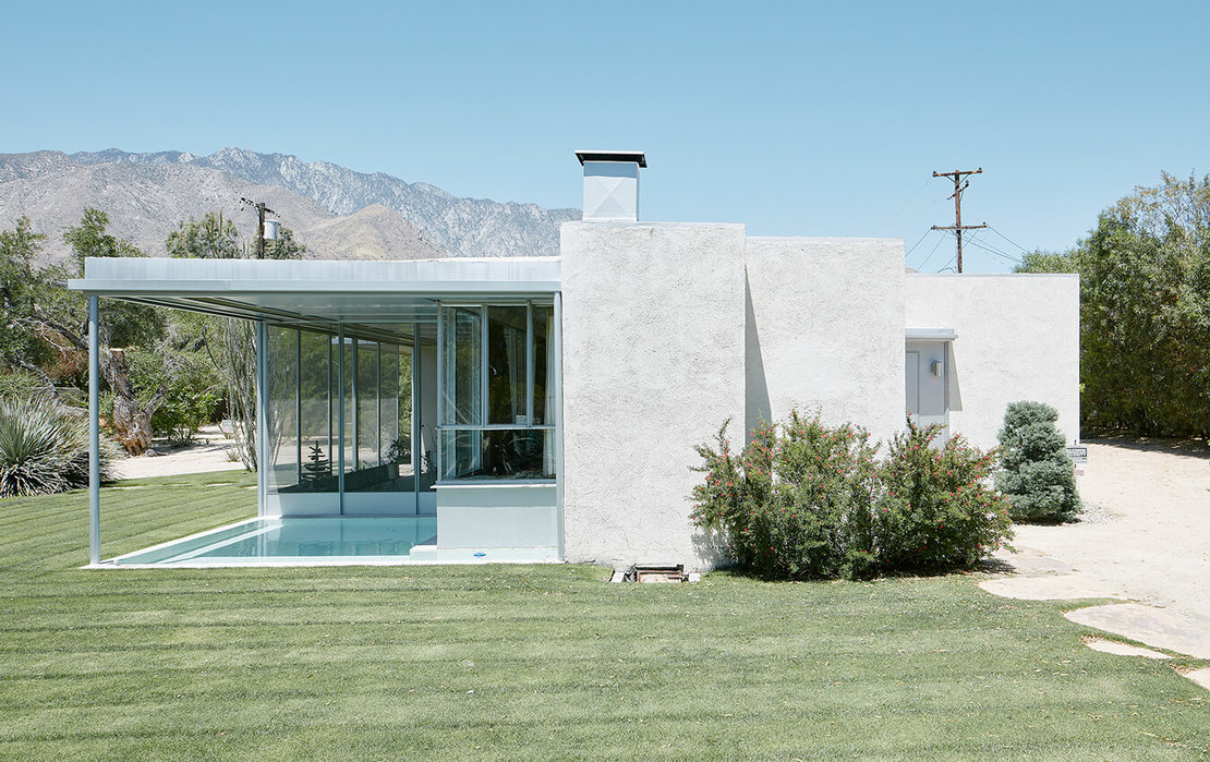 Richard Neutra: Miller House, Palm Springs, 1936/37, Foto © David Schreyer